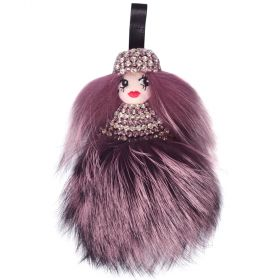 Tchi Tchi - Pamela Diva Light Purple & Crystal Bag Charm