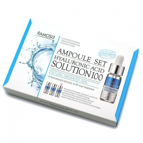 Ramosu Hyaluronic Acid Solution 100 Ampule Set 3x10ml