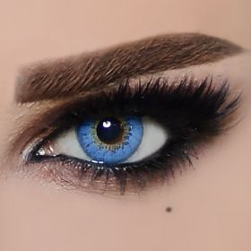 The Queen Color Contact Lenses - Blue Fashion