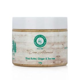 Shea Butter, Ginger & Tea Tree Scrub -150gm