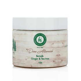Ginger & Tea Tree Body Scrub - 150gm