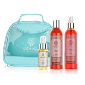 Hammam Sharki Green Bag (Sun Care Gel Argon 250ml,Spray Argan Oil 250ml,Hair Spray  Argan Oil 80ml)