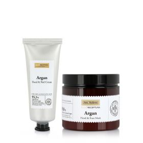 Eco Argan Hand, Nails And Foot Care Set - 2Pcs