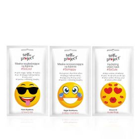 Emoji Mask Set - 3 pcs