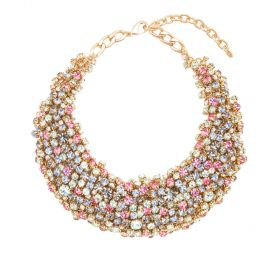 Arium Collection - Monsoon Multi/Gold Necklace