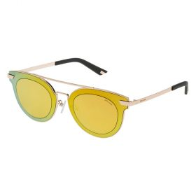 Police SPL349M Rose Gold and Gold Mirror Sunglasses