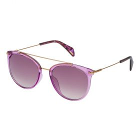 Police SPL405M Pink Crystal and Pink Sunglasses