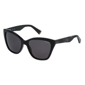 Police SPL407M Black and Grey Sunglasses