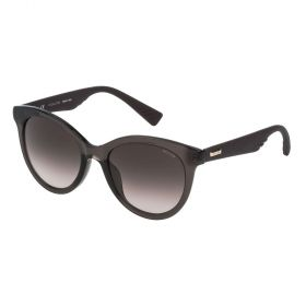 Police SPL411 Glossy Black and Smoke Gradient Sunglasses