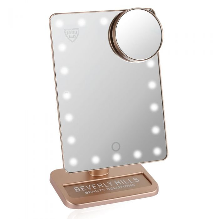e7fd97beaaf20 Buy Beverly Hills - Led Makeup Mirror - Rose Gold Online in Kuwait ...